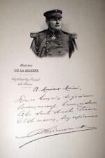 VICE AMIRAL BIENAIME MARINE GRAVURE  MARIANI 1902 PRINT PORTRAIT M144