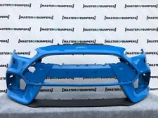 FORD FOCUS RS MK4 2015-2019 FRONT BUMPER IN BLUE WITH LIP SPOILER GENUINE [F505]