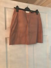 Leather Look Mini Skirt Size 10