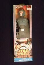 "Star Wars Rebels Agent Kallus 12"" Figure Hasbro Hero Series Includes Blaster New"