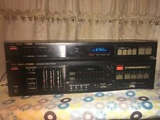 FISHER INTEGRATED STEREO AMPLIFIER CA-275 (no Sound)  & FM-275 AM/FM Tuner