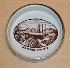 MARSTONS 150 YEARS OF BREWING EXCELLENCE  Commemorative Stoneware Ashtray 1984