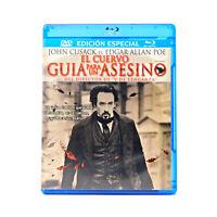 EL CUERVO GUIA PARA UN ASESINO (THE RAVEN) (Blu-ray Disc & DVD Combo)