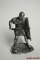 Collection tin soldier, figure. Roman soldier advancing 54 mm