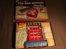 VINTAGE 1959 TIC TAC DOUGH HOME QUIZ TRANSOGRAM BOARDGAME  3865