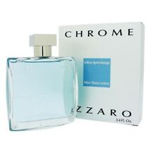 Azzaro Chrome Aftershave Lotion 3.4oz / 100ml New In Box ✰Free Shipping✰