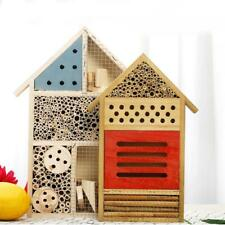 Wooden Insect House Home Hotel Garden Bug Bee Ladybird Butterfly Nest Box