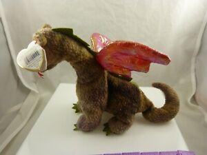 Ty Scorch dragon  bday July 31, 1998 beanie babies