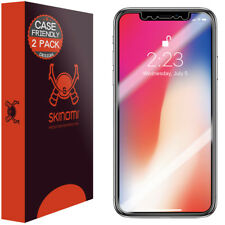 Skinomi TechSkin - Clear Film Screen Protector for iPhone X (Case Friendly)