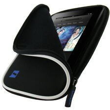 """Black Neoprene Case Cover for Amazon Kindle Fire HD HDX 7"""" 2012 & 2013 Versions"""