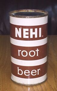 *Clean* Nehi Root Beer Flat Top Soda Can--Pre-Zip Code