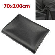 DIY Durable PU Black Motorcycle Scooter Seat Cover 70x100cm 27x39 inch Universal