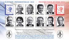 """VIGNETTE POLITIQUE ND """"France Présidentielle 1er Tour - 10 Candidates"""" 2012"""