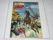 TINTIN 11/08 1955 N°355 HERGE AFFAIRE TOURNESOL DAN COOPER WEINBERG F. FUNCKEN
