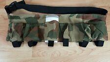 Camo Waist Pack Card Holder Bag Key Clip Expandable Belt up to 43 inch waist