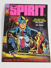 The Spirit Magazine -By Will Eisner - #1 April 1974-Warren Publishing VF