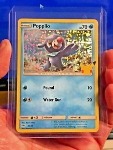 MINT! 2021 Pokémon POPPLIO HOLO CARD McDonalds Happy Meal Toy Holographic 23/25