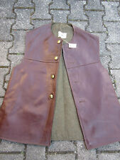 Jerkins Lederweste Horsehide Vest Military True Vintage Army Leather Jerkin #4