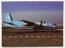 Maersk Air Fokker 50 Postcard