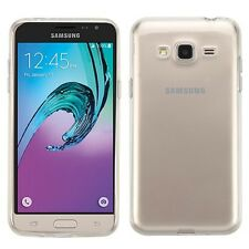 Glossy Transparent Clear Phone Cover Case for Samsung Galaxy J3/Amp Prime