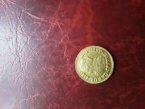 Spain 1777 half escudo golden coin
