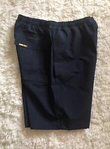 Zero Restriction ZR Men Navy Blue Gore-Tex Featherweight Rain Polyester Shorts S