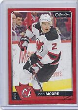 16-17 2016-17 O-PEE-CHEE JOHN MOORE RED BORDER PACK REDEMPTION 445 DEVILS