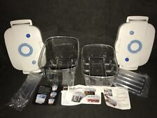 2 Vilas Vacuum Containers Airseal Storage ~ Keep Food Fresh