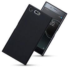 Thin Rubber Jelly Case Cover for Sony Xperia XZ Premium - Black Matte