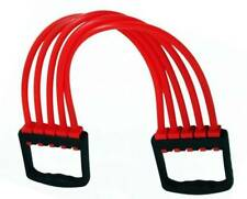 Rubber Rope Adjustable 5 SILICONE STRIPES CHEST EXPANDER Resistance Tube-Unisex