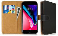 SDTEK Coque Housse Portefeuille Etui Cuir Flip pour iPhone 7 / iPhone 8