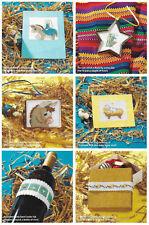 Cross stitch charts for 34 Nativity motifs Christmas 910