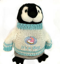 """It's A Boy - Baby Shower - Penguin Plush (10"""" Tall)"""