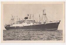 Messageries Maritimes Caledonien, Tahitien Shipping Postcard B633