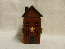 Boyds Bear Grandpa's Prairie House W/ Hearth McNibble Treasure Box 1E 4013296