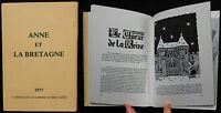 C/ ANNE ET LA BRETAGNE 1977 Cahiers de l'Académie de Bretagne
