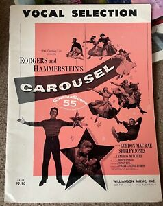 VOCAL SELECTION CAROUSEL RODGERS AND HAMMERSTEIN SHIRLEY JONES SHEET MUSIC BOOK