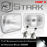 H6054 / H6052 / H6014 Head Light Glass Housing Lamp Conversion Chrome - 7x6 (B)