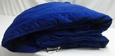 """BlanQuil Blue Velvet 20lbs. Weighted Blanket 48 x 74"""""""
