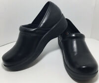 Safe-T-Step Women's Oil & Slip Resistant Black Clog Work Shoes Great Shape 7.5W