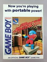 Altered Space - Toys 'R' Us Display Card - Game Boy Nintendo Gameboy VidPro RARE
