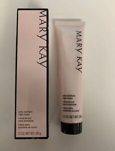 Mary Kay Extra Emollient Night Cream for very dry skin 2.1 oz New in Box