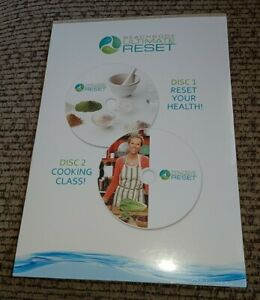 Beach Body Ultimate Reset TWO DVD SET health cooking NEW/SEALED Fast Shipping!