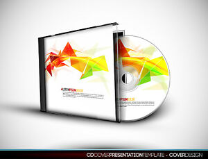 50x CD albums: Case, Cover, Thermal print & copying