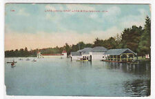 Lake Como East Lake Birmingham Alabama postcard
