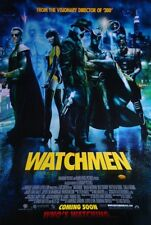 Watchmen International A Double Sided Original Movie Poster 27x40 inches