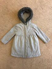 NWT Crazy 8 WINTER TRANS Hooded Blue Plaid Print Windbreaker Zip Front Jacket