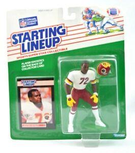 NEW 1989 Dexter Manley Starting Lineup figure Card Washington Redskins Toy NFL C