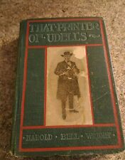 That Printer Of Udell's 1902 1903 hardcover Harold Bell Wright A.L Burt company