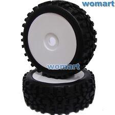 4pcs 1/8 RC Off Road Buggy Tires Wheels for Losi HPI XTR Badlands Car Upgrade